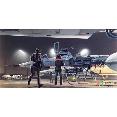 Fototapeta DX10-069 Star Wars Classic RMQ Yavin Y-Wing