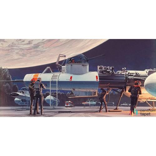 Fototapeta DX10-070 Star Wars Classic RMQ Yavin Hangar