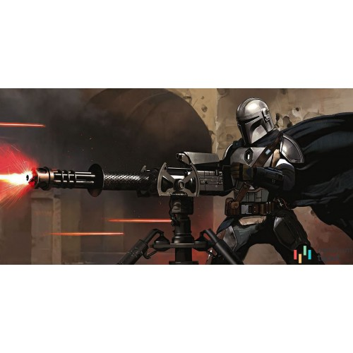 Fototapeta DX10-088 Star Wars The Mandalorian Blaster