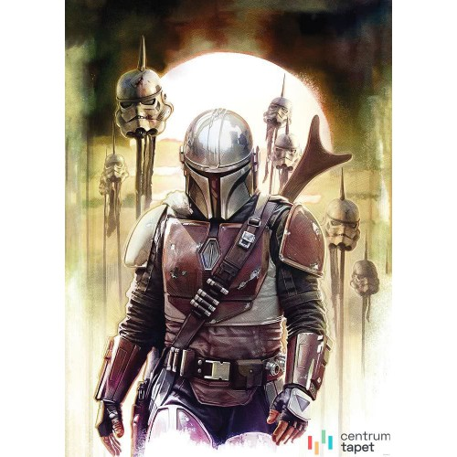 Fototapeta DX4-085 Star Wars The Mandalorian Big Impaler