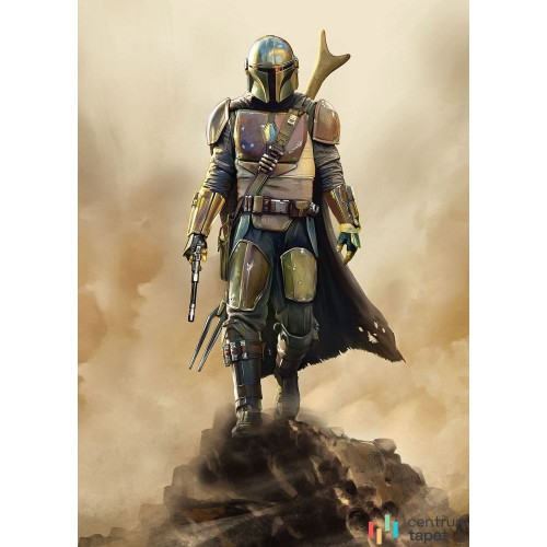 Fototapeta DX4-086 Star Wars The Mandalorian The Hunter