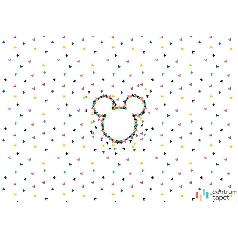 Fototapeta DX8-024 Mickey Heads-Up