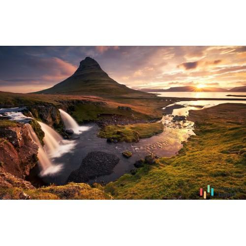 Fototapeta SHX8-042 Guten Morgen auf Isländisch