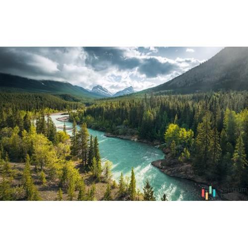 Fototapeta SHX9-095 Wild Canada
