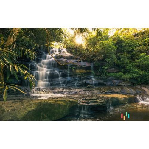 Fototapeta SHX9-131 Golden Falls