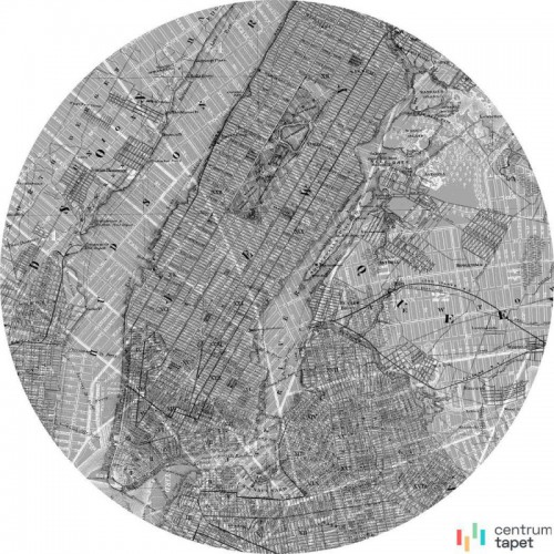 Fototapeta D1-056 Map