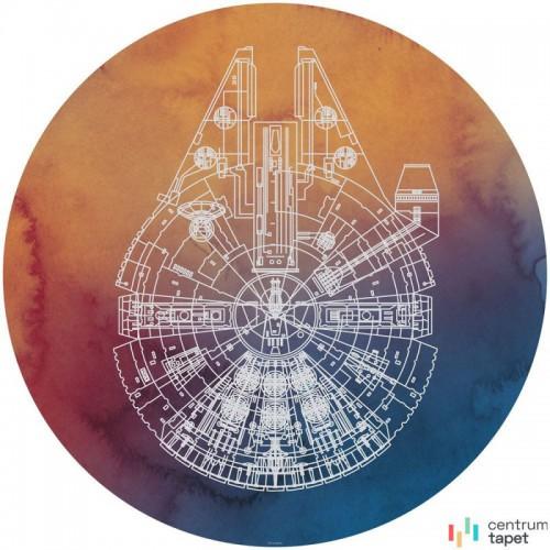 Fototapeta DD1-027 DOT Star Wars Millennium Falcon