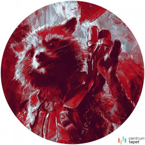 Fototapeta DD1-052 DOT Avengers Painting Rocket Raccoon