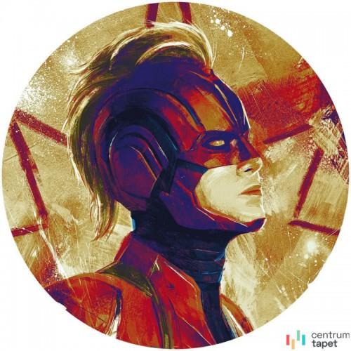 Fototapeta DD1-054 DOT Avengers Painting Captain Marvel Helmet