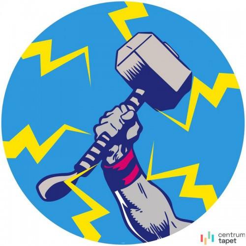 Fototapeta DD1-056 DOT Avengers Thor's Hammer Pop Art