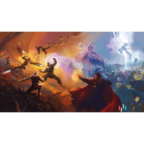 Fototapeta IADX10-076 Avengers Epic Battles Two Worlds