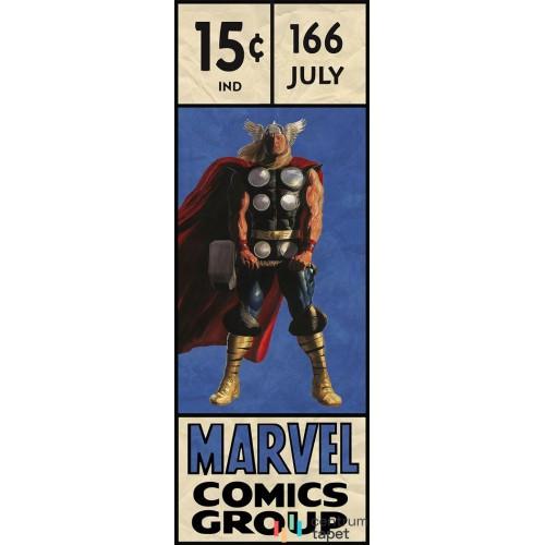 Fototapeta IADX2-067 Thor Retro Comic Box
