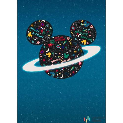 Fototapeta IADX4-026 Planet Mickey
