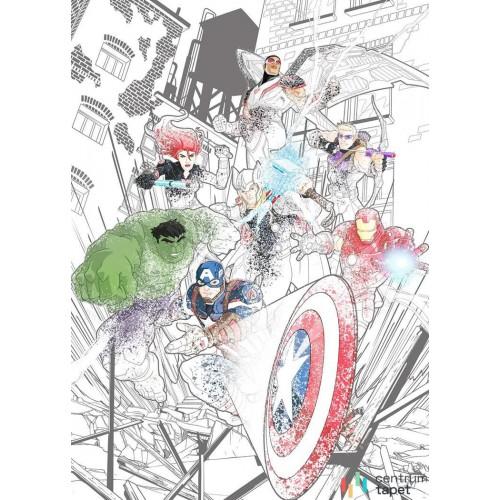 Fototapeta IADX4-061 Avengers Attack