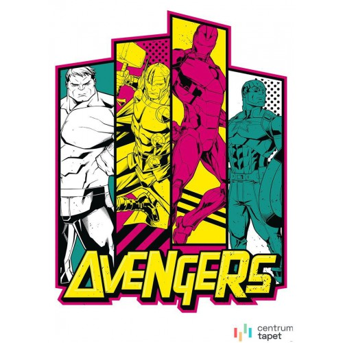 Fototapeta IADX4-064 Avengers Flash