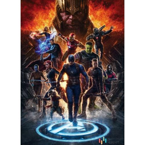 Fototapeta IADX4-073 Avengers vs Thanos