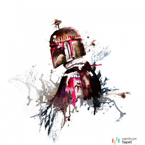 Fototapeta IADX5-021 Star Wars Watercolor Boba Fett