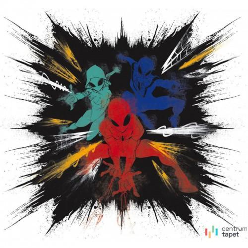 Fototapeta IADX6-080 Spider-Man Color Explosion