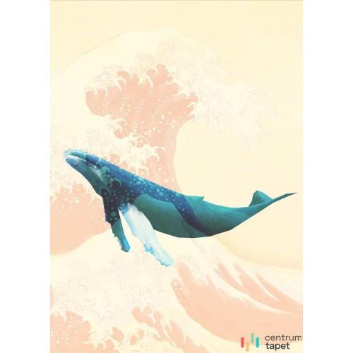 Fototapeta IAX4-0012 Whale Voyage